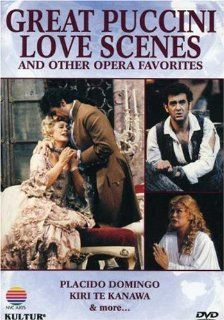 Great Puccini Love Scenes and Other Opera Favorites / Placido Domingo, Kiri Te Kanawa, Royal Opera, Covent Garden: Great Puccini Love Scenes: Movies & TV
