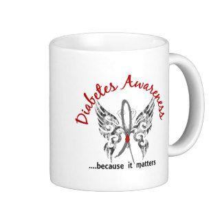 Grunge Tattoo Butterfly 6.1 Diabetes Mug