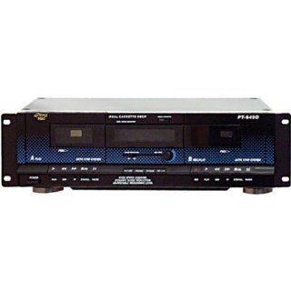 Pyle Home PT649D Dual Cassette Deck Electronics
