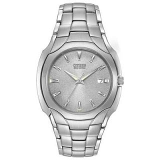 Mens Citizen Eco Drive™ Stainless Steel Watch (Model: BM6010 55A