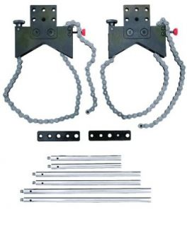 Starrett S668BZ Shaft Alignment Clamp Set With Fitted Case C Clamps Industrial & Scientific