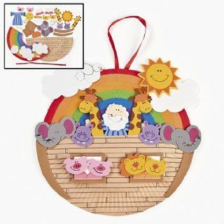 Paper Plate Noah's Ark Craft Kit   Religious Crafts & Crafts for Kids   Childrens Paper Craft Kits