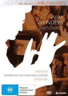 Wim Wenders' Documentaries   3 DVD Set ( Tokyo Ga / Notebook on Cities and Clothes / Room 666 ) ( Toko GA / Aufzeichnungen zu Kleidern und St�dten / Chambre 666 (Rom Six Sixty Six) [ NON USA FORMAT, PAL, Reg.4 Import   Australia ]: Wim Wenders, Michela