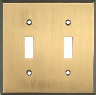 ANTIQUE BRASS Switchplates Outlet Covers, Rocker, GFCI 2 Toggle   Switch Plates