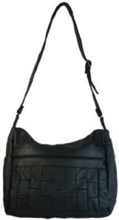 Texcyngoods Concealed Carry Purse Leather Handbag Right or Left Handed Black Clothing