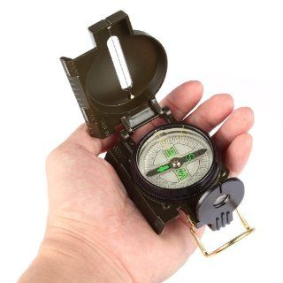 Lagute EK 1 Pocket Waterproof Military Multifunction Metal Compass (Camouflage) : Camping Compasses : Sports & Outdoors