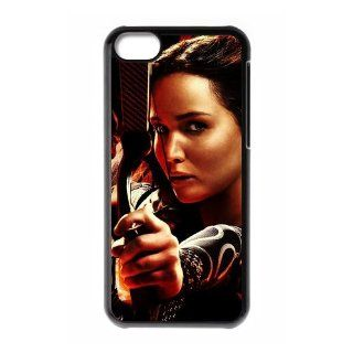 Classic Chief Actress of The Hunger Games&Jennifer Lawrence Durable Hard Case Cover for iPhone 5C: Cell Phones & Accessories