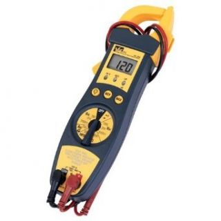 Ideal Industries 61 704 True RMS Clamp Meter, 200A AC, Conductors to 33mm, Voltage, Capacitance, Frequency, and Resistance Measurement Industrial & Scientific