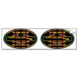 VSR Combat Infantryman Badge 2 for 1 Euro Stickers Bumper Stickers