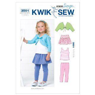 Kwik Sew K3501 Top Sewing Pattern, Bolero