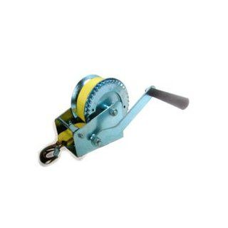 2000 Lb Heavy Duty Hand Winch with Strap   Perfect for Car, Boat, Atv, Truck