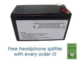 Sealed Lead Acid battery for APC BN600 12V, 9Ah: Electronics