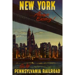 Art   New York by Pennsylvania Railroad