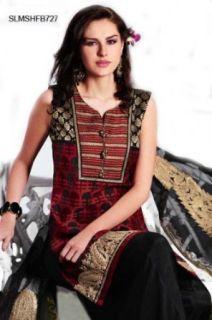 SLMSHFB727   Cbazaar Salwar Kameez Black: World Apparel: Clothing