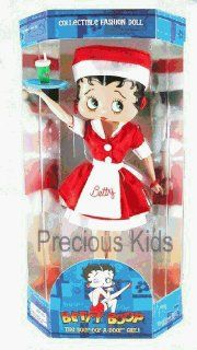Betty Boop Collectible Fashion Doll   Diner Car Hop Outfit Style by Precious Kids: Toys & Games