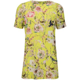 Glamorous Womens Floral Dress   Yellow      Womens Clothing
