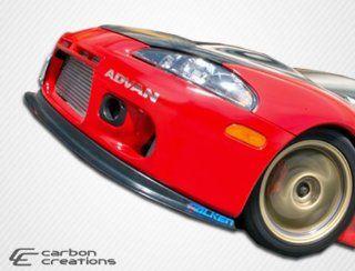 1997 1999 Mitsubishi Eclipse Carbon Creations Aero One Front Lip Under Spoiler Air Dam   1 Piece Automotive