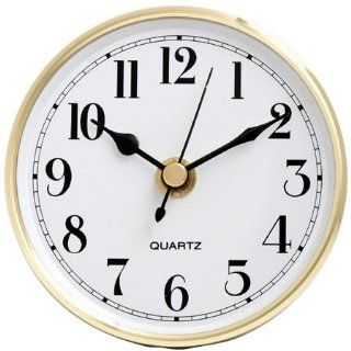 "4 1/2"" White Arabic Clock Insert   Wall Clocks"