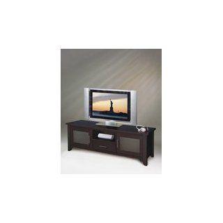 Elite Elt746 65 inch Wide Credenza Tv Stand And Audio Rack Wenge: Electronics