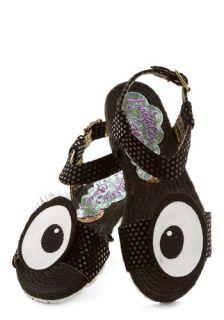 Irregular Choice Don't Stop the Glance Sandal  Mod Retro Vintage Sandals