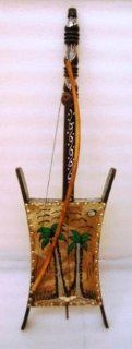 New Unique String Instrument Arab Fiddle Bedouin Rababa: Musical Instruments