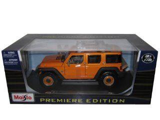 Jeep Rescue Concept Diecast Car Model 118 Orange Toys & Games
