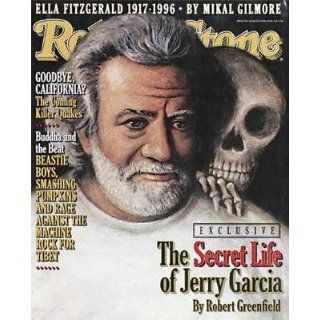 Rolling Stone Magazine, Issue 740, August 1996   Jerry Garcia Cover Jann S Wenner Books