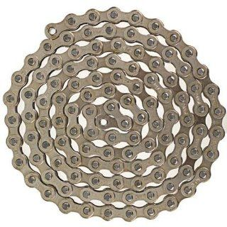 KMC Z410 Bicycle Chain (1 Speed, 1/2 x 1/8 Inch, 112L, Silver/Black) : Bike Chains : Sports & Outdoors