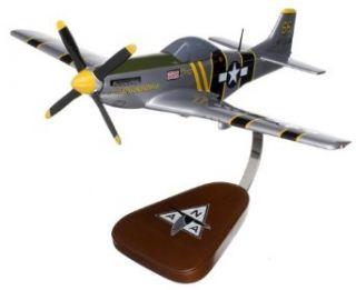 P 51 Mustang Flying Undertaker Wood Model Airplane: Toys & Games