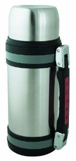 Brentwood FTS 1200 Vacuum Stainless Steel Food and Beverage Bottle with Red Handle, 1.2 Liter Thermos Kitchen & Dining