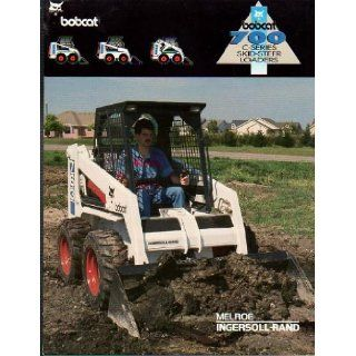 Maintenance Operation & Manual (Skid steer Loaders, 763 C series): Bobcat: Books