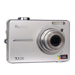 Kodak EASYSHARE C763   Digital camera   compact   7.1 Mpix   optical zoom 3 x   supported memory MMC, SD  Point And Shoot Digital Cameras  Camera & Photo