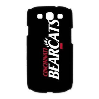 Custom Cincinnati Bearcats 3D Cover Case for Samsung Galaxy S3 III i9300 LSM 784: Cell Phones & Accessories