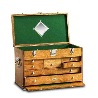Gerstner Wood Tool Chests Classic Chest   Golden Oak   Lawn And Garden Hand Tools