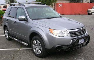 Subaru Forester Subaru Forester Sport Bar Black Grille Guards & Bull Bars Stainless Products Performance Automotive