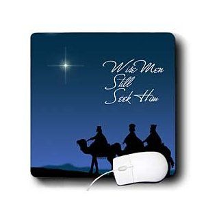 mp_30754_1 777images Designs Christian   Wise men still seek Him Magi following the Christmas star   Mouse Pads