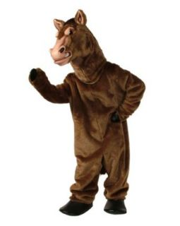 ALINCO Fierce Stallion Mascot Costume: Adult Sized Costumes: Clothing