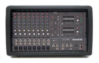 Mackie 808M 8 Ch. Mono Powered Mixer w/Effects Musical Instruments