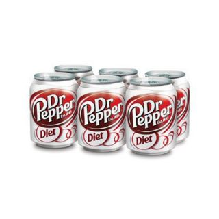 Dr. Pepper Diet Soda 8 oz, 6 pk