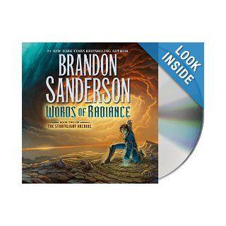 Words of Radiance (Stormlight Archive) Brandon Sanderson, Michael Kramer, Kate Reading 9781427233073 Books