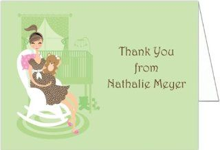 Rocking Chair Baby Shower Thank You Cards   Set of 20 Baby
