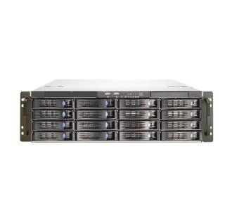 Chenbro RM31616M2 R820 820 Watts 3U Rack Mount Server Chassis with 6Gb/S Mini SAS Backplane: Electronics