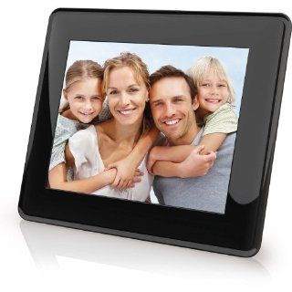 Coby DP843 8 Inch Digital Picture Frame (Black) : Portaretrato Digital : Camera & Photo