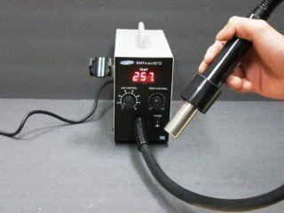 QK857D Mini Hot Air Rework Station w/ 3 nozzles   Soldering Stations