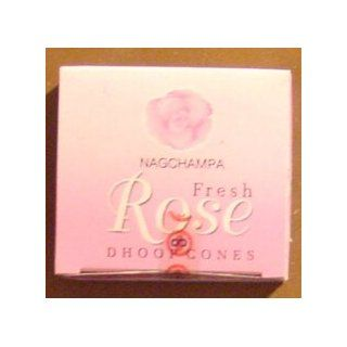 Fresh Rose Cones   Box of 12 Packages (144 Cones Total)   Satya Sai Baba Incense: Home Improvement