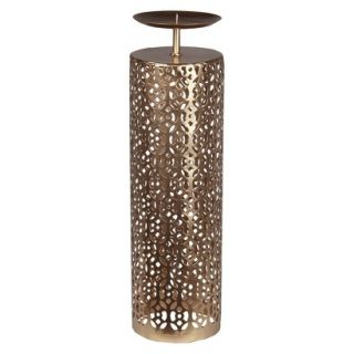 Privilege Single Candle Holder   Gold