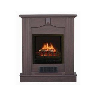 Shop Stonegate� Dark Cherry Mantle Electric Fireplace at the  Home D�cor Store