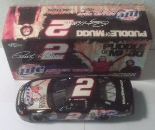 2004 Action Racing Collectables . . . Rusty Wallace #2 Miller Lite / Puddle of Mudd Dodge Intrepid 1/24 Diecast . . . Limited Edition 1 of 4,884 Toys & Games