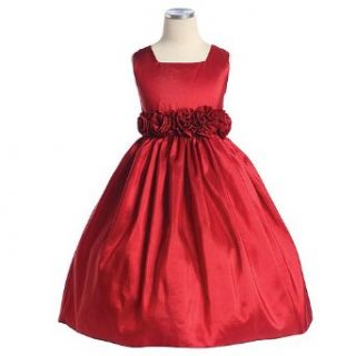 Sweet Kids Girls Red Christmas Flower Girl Pageant Dress 6M 12 Sweet Kids Baby