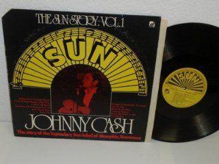 JOHNNY CASH The Sun Story Vol.1 LP SUN/ Sunnyvale 9330 901 vinyl record album